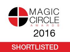 MCA 2016 shortlisted logo
