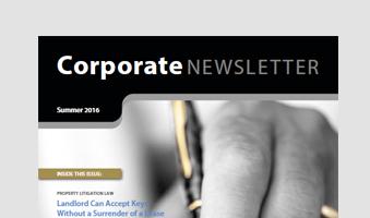Edwin Coe Newsletter Summer 2016