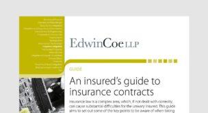 An insureds guide