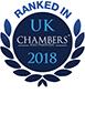 Chambers UK 2018 - Ranked