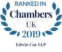 Chambers UK 2018 - Ranked