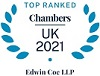 Ranked in Chambers UK 202 for Property Litigation