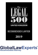 Recommended Lawyer 2019