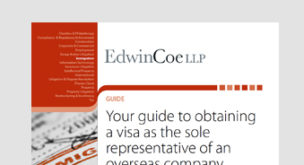 Your guide to obtaining a Visa as the Sole Representative of an overseas company