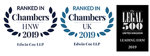 Chambers HNW, Legal 500 and Chambers UK 2018