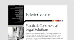 Practical, Commercial Legal Solutions