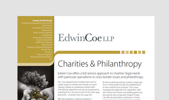 Charities & Philanthropy Factsheet