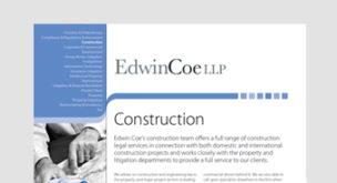 Construction Factsheet