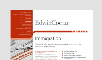 Immigration Factsheet
