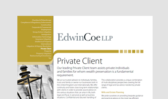 Private Client Factsheet