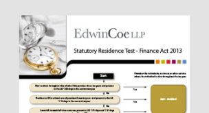 Statutory Residence Test – Finance Act 2013 (UK)