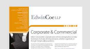 Corporate & Commercial Factsheet