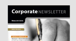 Edwin Coe Newsletter – Winter Edition 2018