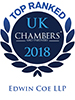 Chambers UK 2018 - Leading Firm