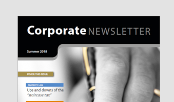 Edwin Coe Newsletter – Summer Edition 2018