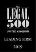 The Legal 500 2019 - Leading Firm