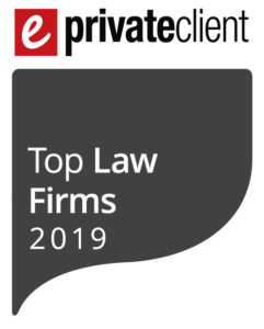 Edwin Coe ranked as a 2019 top Private Client law firm by
