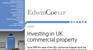 Investing in UK commercial property