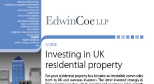 Investing in UK Residential Property