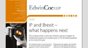 IP and Brexit – what happens next