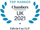 Recommended in Chambers UK 2021