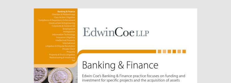 banking & finance factsheet