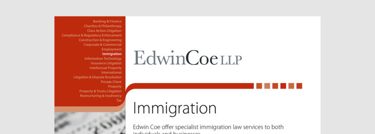Immigration factsheet cover