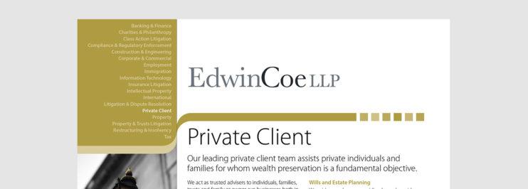 Private Client Factsheet cover