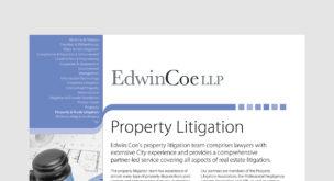 Property Litigation Factsheet