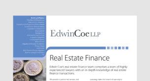 Real Estate Finances
