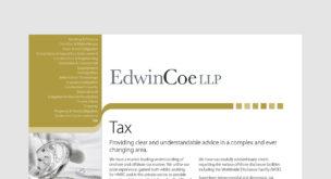 Tax Factsheet