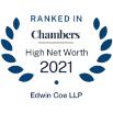 Chambers UK 2021 - High Net Worth